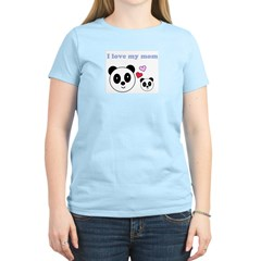 I LOVE MY MOM Women's Light T-Shirt