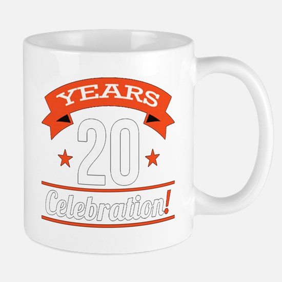 20 th celebration ! Mugs