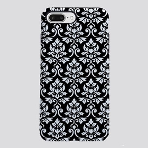 Feuille Damask Ptn WB iPhone 8/7 Plus Tough Case