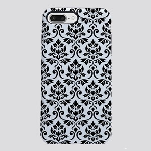 Feuille Damask Ptn BW iPhone 8/7 Plus Tough Case