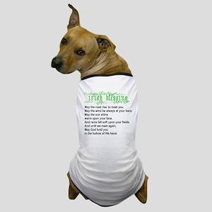 Irish Blessing Dog T-Shirt