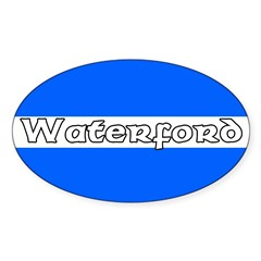 Waterford Oval Decal