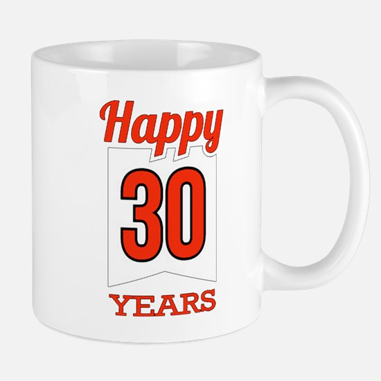 30 th anniversary Mugs