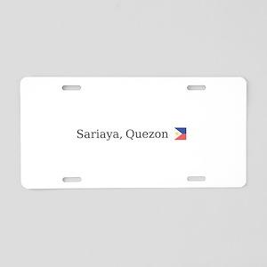 Sariaya, Quezon Aluminum License Plate