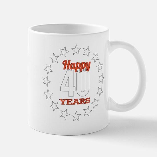 40 th anniversary Mugs