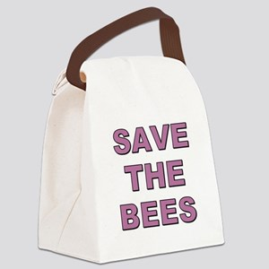 SAVE THE BEES Canvas Lunch Bag