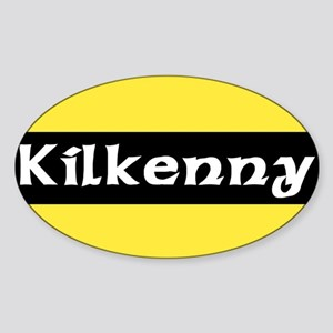 Kilkenny Oval Sticker