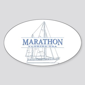 Marathon Florida Sticker