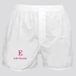 E is for Emmie Boxer Shorts