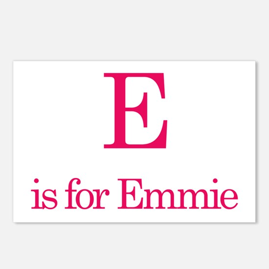 E is for Emmie Postcards (Package of 8)