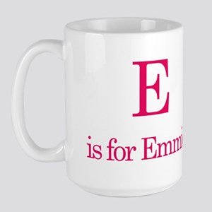 E is for Emmie Large Mug