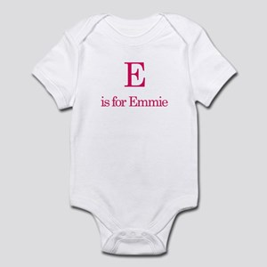 E is for Emmie Infant Bodysuit