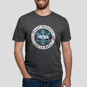 Mount Bohemia - Lac La Belle - Michigan T-Shirt