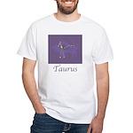 Taurus Astrology 2 White T-Shirt