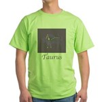 Taurus Astrology 2 Green T-Shirt