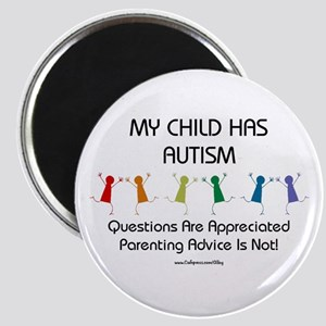 My Child Has Autism Magnet