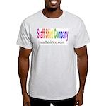 Staff Shirt Co Logo Ash Grey T-Shirt