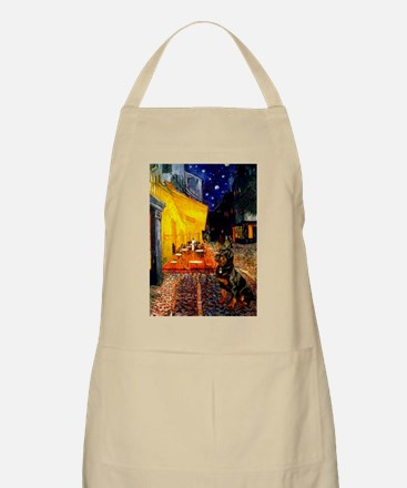 Cafe with Rottie BBQ Apron