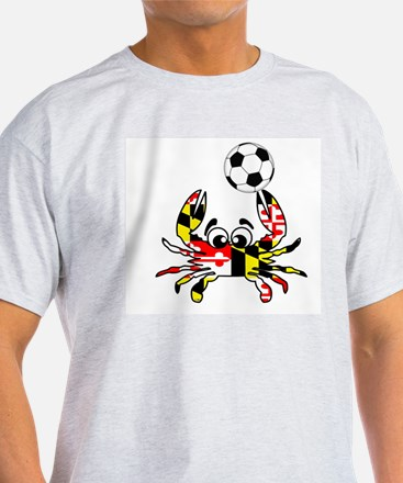 Maryland Crab With Soccer Ball T-Shirt