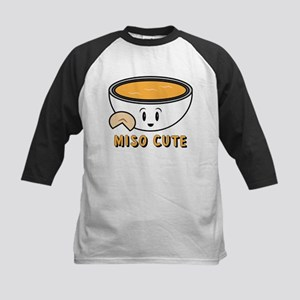 Miso Cute Kids Baseball Tee