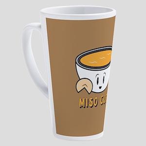 Miso Cute 17 oz Latte Mug