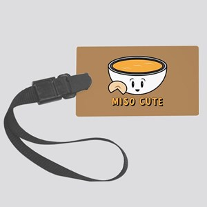 Miso Cute Large Luggage Tag