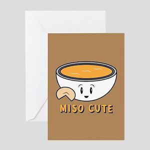 Miso Cute Greeting Card