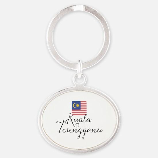 Unique Malaysian Oval Keychain
