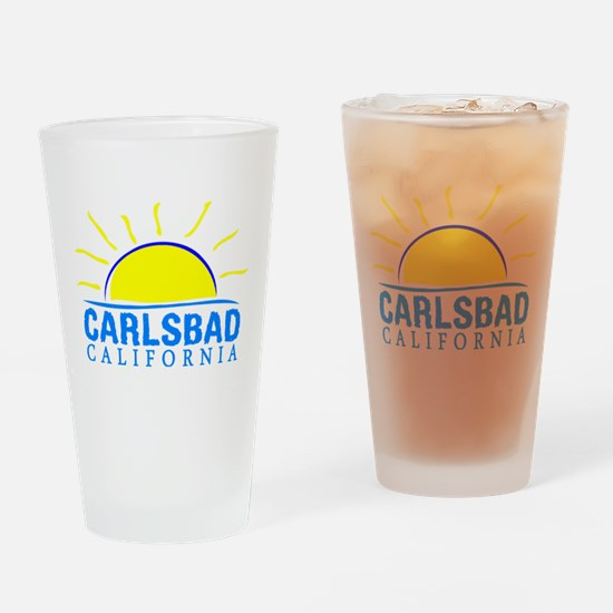 Summer carlsbad state- california Drinking Glass