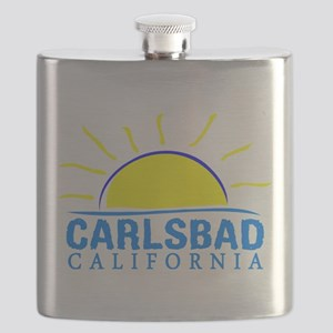 Summer carlsbad state- california Flask