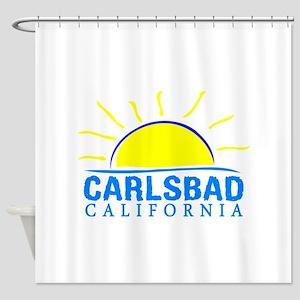Summer carlsbad state- california Shower Curtain