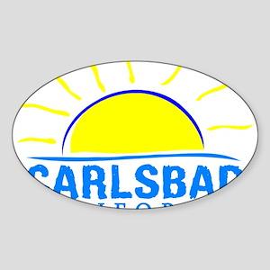 Summer carlsbad state- california Sticker
