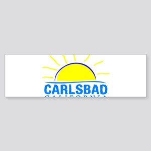 Summer carlsbad state- california Bumper Sticker
