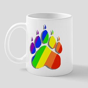 RAINBOW BEAR PAW--SHADOW Mug