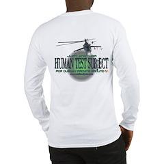 Human Test Subject Long Sleeve T-Shirt