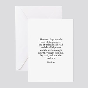 MARK 14:1 Greeting Cards