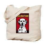Obey the Dalmatian! Dog Tote Bag