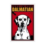 Obey the Dalmatian! Dog Mini Poster Print