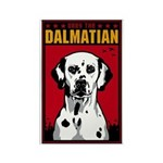 Obey the Dalmatian! Rectangle Dog Magnet