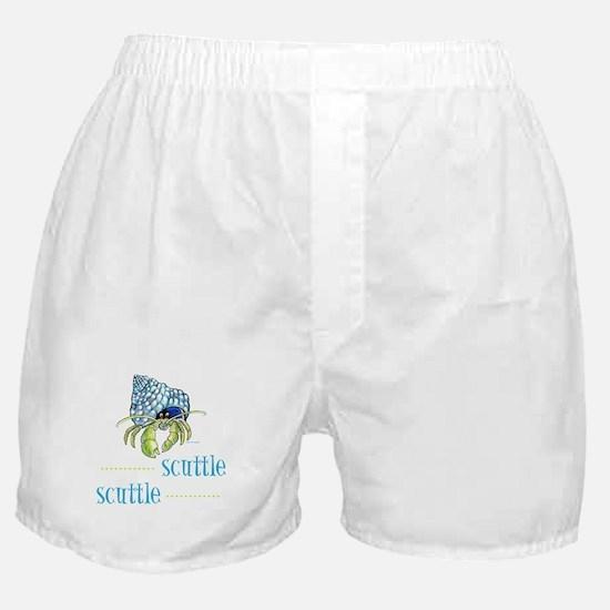 hermit crab Boxer Shorts
