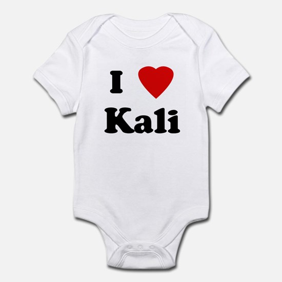 I Love Kali Infant Bodysuit