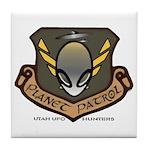 Planet Patrol Tile Coaster