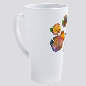 Discus Fish 17 oz Latte Mug