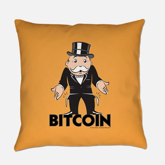 Monopoly Bitcoin Everyday Pillow