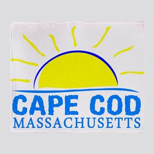 Summer cape cod- massachusetts Throw Blanket