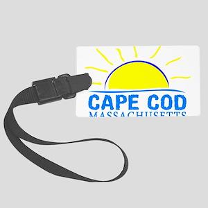 Summer cape cod- massachusetts Large Luggage Tag