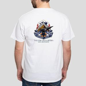 Dare Wear-Utah Space Command -White T-Shirt