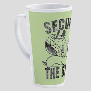 "Monopoly ""Secure The Bag"" 17 oz Latte Mug"
