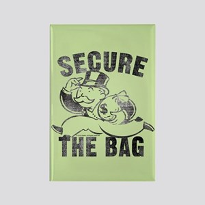 "Monopoly ""Secure The Bag"" Rectangle Magnet"