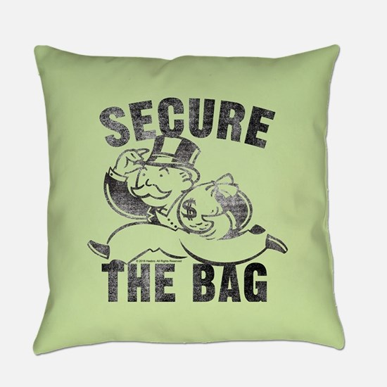 """Monopoly """"Secure The Bag"""" Everyday Pillow"""